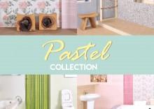Pastel collection ลายกระเบื้องห้องน้ำโทนสีใหม่ได้อารมณ์