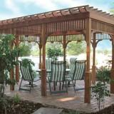 10 แบบซุ้มไม้ระแนงสำหรับพักผ่อนสำหรับสวนคุณ
